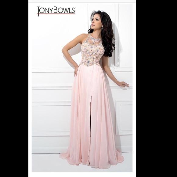 Tony Bowls Dresses | Tony Bowl Prom Dress Pink | Poshmark